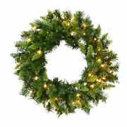 Vickerman 24 Imperial Pine Artificial Christmas Wreath With 50 Clear Lights