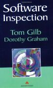 Software Inspection By Gilb Graham New 9780201631814 Fast Free Shipping-