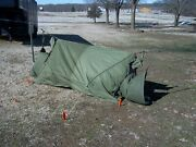 Military Surplus 2 Man Mountain Tent Cold Weather Camping Backpack Army No Poles