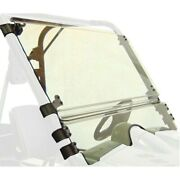 For Yamaha Rhino 700 08-13 Scratch Resistant Full Tilting Windshield