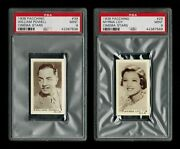 Psa 9 Thin Man Two Beautiful High End 1936 Cards William Powell And Myrna Loy