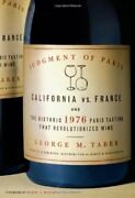 Judgment Of Paris California Vs France... By Taber George M. Other Book Format