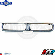 1972 Charger Triple Plated Chrome Front Bumper Brand New Tooling Amd