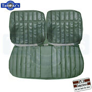 71-72 Impala Front Bench And Rear Seat Covers Upholstery Pui New