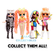 Lol Surprise Omg Lights 10 Fashion Dolls - Choose Your Character
