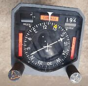Aircraft Course Indicator Pn 522-2782-004 Model 331a-6a Ar Functional