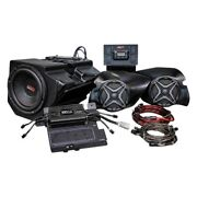 For Polaris Rzr 900 15-17 Ssv Works Three Speakers Plug-n-play Audio System