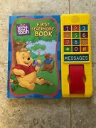 Winnie The Pooh,first Telephone Book By Deborah Upton2001,hardcover,board Book