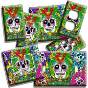 Calavera Day Of The Dead Sugar Skulls Light Switch Outlet Wall Plates Room Decor