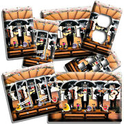 Mexican Mariachi Band Cats Play Music Light Switch Outlet Wall Plates Room Decor