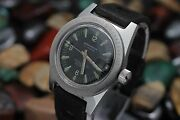 Vintage Wakmann Nautoscaph S.s. Officially Certified 30atm 300m Diverand039s Watch