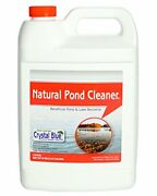 Natural Pond Cleaner Muck And Sludge Remover Safe For Humans And Fish 1 Gallon