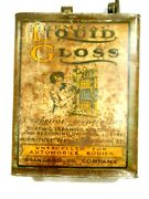Vintage Standard Oil Co-liquid Gloss Cleaner 1 Gal Can