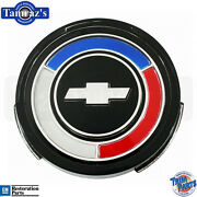 66-67 Chevelle Standard Wheel Cover Center Cap Emblem - Made In The Usa