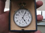 Rare Vintage Longines Military Pocket Watch For Turkish Military Forces 1943and039s