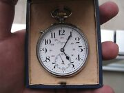 Rare Vintage Longines Military Pocket Watch For Turkish Military Forces 1943's
