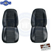 1969 Barracuda Standard Front And Rear Seat Covers Upholstery Pui New