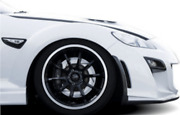 Knight Sports Front Bumper Spoiler Type-3 For The Mazda Rx-8