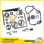 For Buick Gmc Chevrolet Timing Chain Kit Gasket Vvt Timing Solenoid 2.0l 2.4l