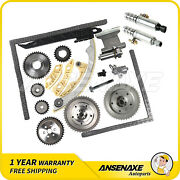 Fit 06-10 Chevrolet Timing Chain Kit Variable Valve Timing Solenoid Vvt Gear