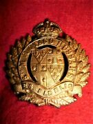 New Zealand - 5th Mounted Rifles Cap Badge All Brass Issue