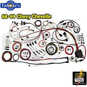 68-69 Chevl Classic Update Series Complete Body And Interior Wiring Harness Kit