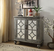 Acme Furniture Velika - Console Table Weathered Gray