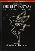 Middle Unearthed The Best Fantasy Short Stories 1800-1849, Barger, Andrew,,