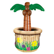 Inflatable Palm Tree Cooler Pack Of 6