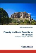 Poverty And Food Security In The Sudan Elmulthum Nagat 9783844326826 New