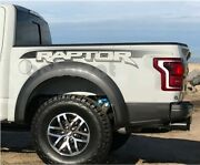 Ford F150 Raptor Tail Carriage Box Side Sticker Pick-up Truck Decal 17-19