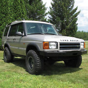 Heavy-duty Front Steel Bumper Da5645 With Winch Mount Land Rover Discovery 2