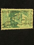 Mount Rushmore 3 Cent Stamp Incredible Cancel In The Spirit Of Paul Revere Pau