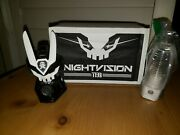 Quiccs Teq Nightvision Plug In Martian Toys Exclusive Signed Only 12 Made Kaws