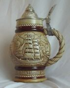 Avon Tall Ships Beer Stein 1977 Handcrafted Brazil