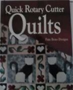 Quick Rotary Cutter Quilts For The Love Of Quilting By Pam Bono Book The Fast