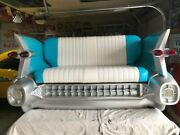 1959 Cadillac Bench Seat. Excellent Condition. Tail Lights Work.