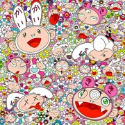 Takashi Murakami Poster You Have All Sorts Of Ups And Downs In Life. Right