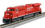 Kato N Scale Es44ac Locomotive Canadian Pacific Cp 8743 Dc Dcc Ready 1768935