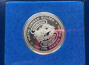 Franklin Mint Torarica Casino Vijftig Surinam Silver Gaming Coin Token D9067