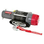 Comeup 129412 4000 Lbs Cub Electric Winch W Synthetic Rope