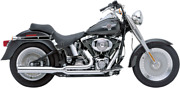 Cobra Chrome Power Pro Hp 2-1 Motorcycle Exhaust System 86-06 Harley Softail