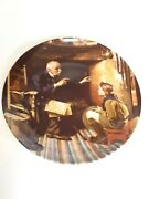 America's Oldest 1854 Edwin M. Knowles Collectible Plates With Original Package