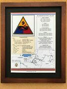 9th Armored Division Insignia And History In World War Ii
