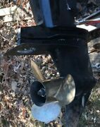 1992 Mercury Outboard 200hp Counter Rotation Lower Unit 175hp 150hp V6 25in