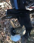 1992 Mercury Outboard 200hp Counter Rotation Lower Unit 175hp 150hpandnbsp V6andnbsp 25inandnbsp