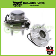 2wd Complete Front Wheel Bearing Hub Assembly For Chevy Gmc Cadillac Yukon 6 Lug