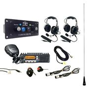 Pci Race Radios Dsp + Bluetooth Ultimate Radio Package 2 Headset/helmet Cables