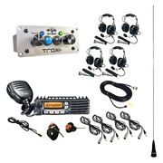 Trax Ultimate Radio Packag W 4 Headset/helmet Cables Dsp Upgrades