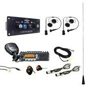 Dsp + Bluetooth California Ultimate Radio Package 2 Headset/helmet Cables